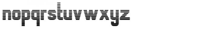 Alfrere Sans Stripes Font LOWERCASE
