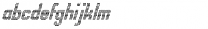 Alfrine Shaded Font LOWERCASE