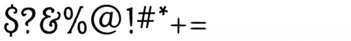 Alghera Pro Regular Font OTHER CHARS