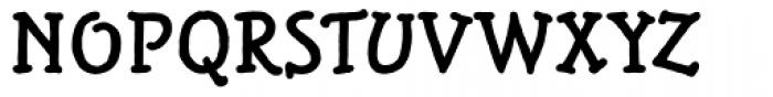 Alghera RR Bold Font UPPERCASE