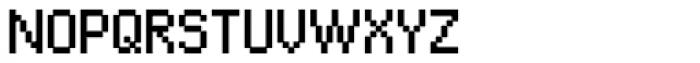 Algol Regular Font UPPERCASE