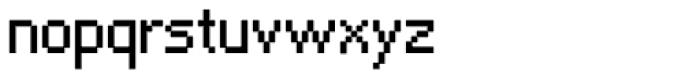 Algol Regular Font LOWERCASE