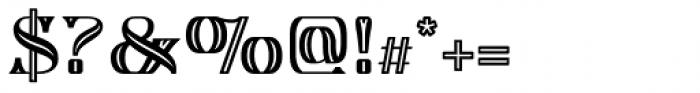 Algreve Font OTHER CHARS