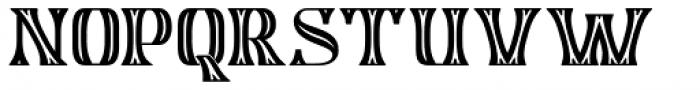 Algreve Font UPPERCASE
