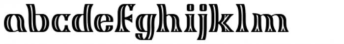 Algreve Font LOWERCASE