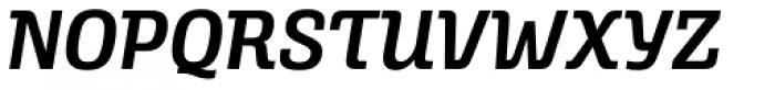 Alianza Italic 600 Font UPPERCASE