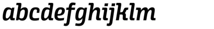 Alianza Italic 600 Font LOWERCASE