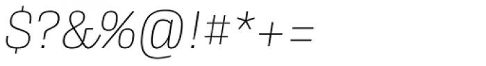 Alianza Script 100 Font OTHER CHARS