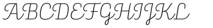 Alianza Script 100 Font UPPERCASE