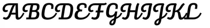 Alianza Script 500 Font UPPERCASE