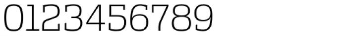Alianza Slab 200 Font OTHER CHARS