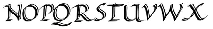 Alice Scrolltip Roman Font UPPERCASE