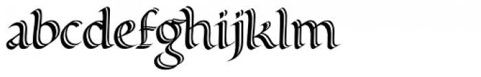 Alice Scrolltip Roman Font LOWERCASE