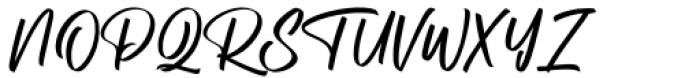 Aliceson Regular Font UPPERCASE