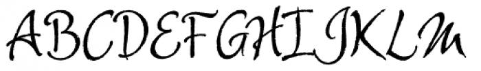 Alie Font UPPERCASE