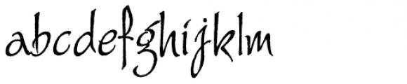 Alie Font LOWERCASE