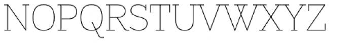 Alight Slab Font UPPERCASE