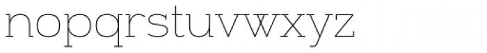 Alight Slab Font LOWERCASE