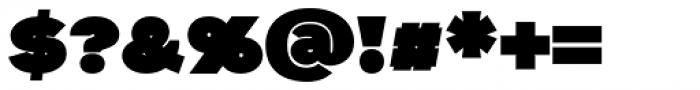 Aliment Black Font OTHER CHARS