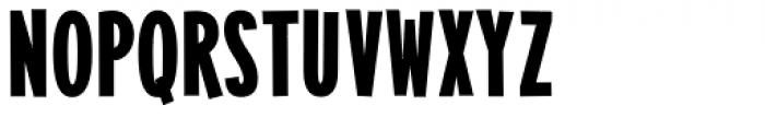 Alimentary Heavy Font UPPERCASE