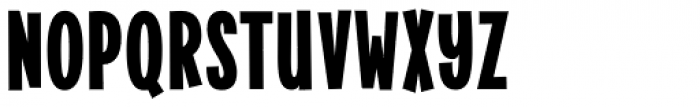 Alimentary Heavy Font LOWERCASE