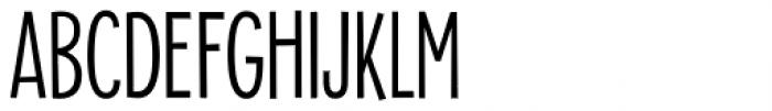 Alimentary Light Font UPPERCASE