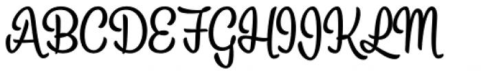 Alina Font UPPERCASE