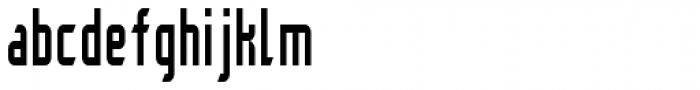 Aline II Font LOWERCASE