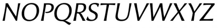 Alinea Incise Light Italic Font UPPERCASE