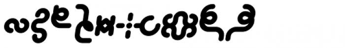 Alio Decor Black Italic Font OTHER CHARS