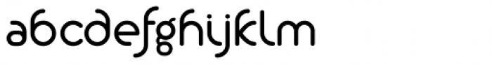 Alio Pro Semi Bold Font LOWERCASE