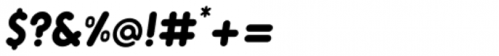 Alio Std Black Italic Font OTHER CHARS