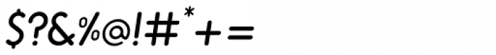 Alio Std Semi Bold Italic Font OTHER CHARS
