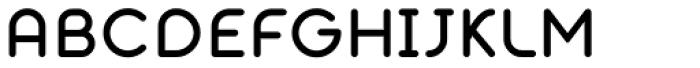 Alio Text Medium Font UPPERCASE