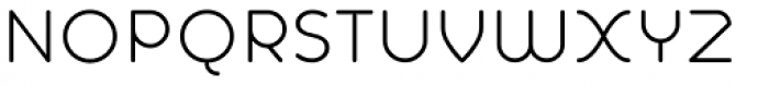 Alio Text Regular Font UPPERCASE