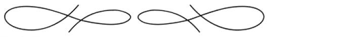 Aliovha Ornata Thin Font LOWERCASE