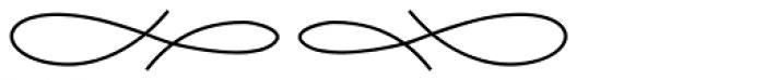 Aliovha Ornata Font UPPERCASE