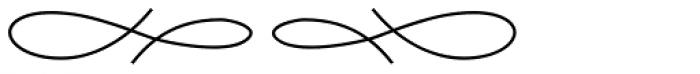 Aliovha Ornata Font LOWERCASE