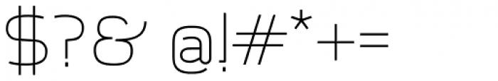 Aliovha Script Font OTHER CHARS