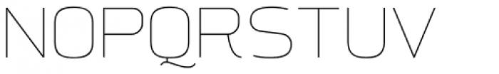 Aliovha Thin Font UPPERCASE