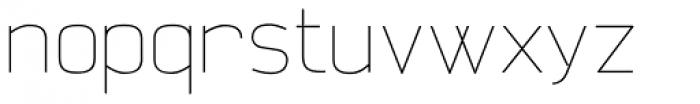 Aliovha Thin Font LOWERCASE
