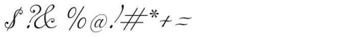 Alipe Script Light Font OTHER CHARS