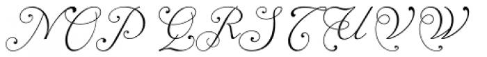 Alipe Script Light Font UPPERCASE