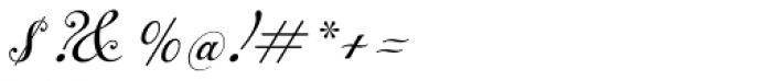 Alipe Script Medium Font OTHER CHARS