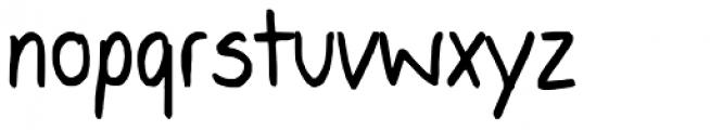 Alisha YOFF Font LOWERCASE