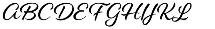 Alisha Font UPPERCASE