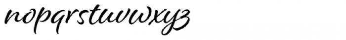 Alisha Font LOWERCASE