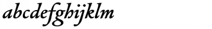Alize Demi Font LOWERCASE