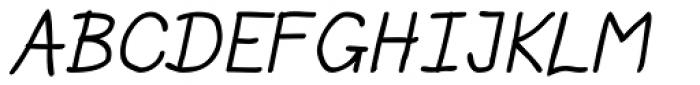 Allatuq Oblique Font UPPERCASE
