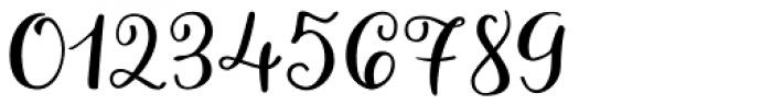 Allegretto Script Font OTHER CHARS